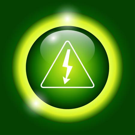 volt: High voltage - Vector illustration.
