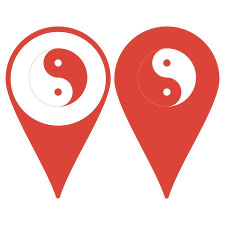 yang: Yin Yang Symbol Illustration
