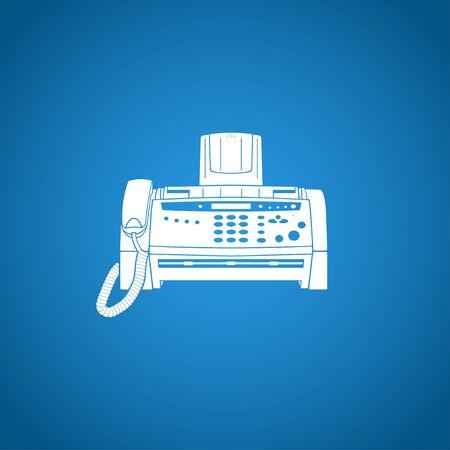 faxger�t: Fax icon