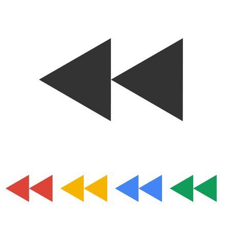 multimedia icon: Glossy multimedia icon  forward vector  Illustration