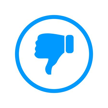 thumbs up business: Like icon. Flat design style modern vector illustration