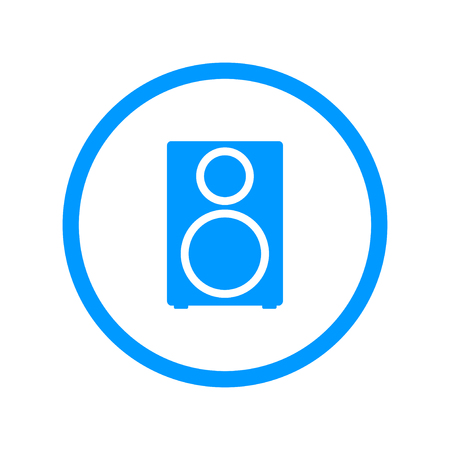 column - vector icon Flat design style Illustration