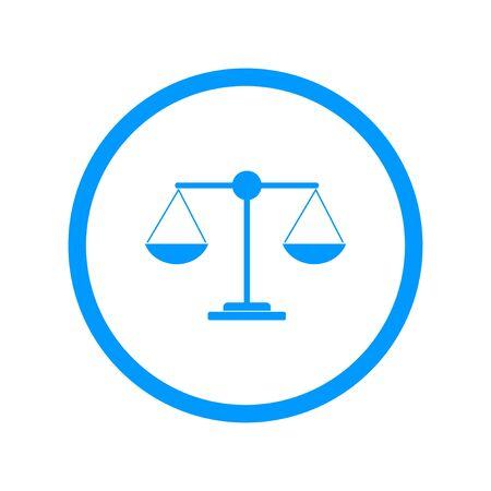 scale: Scale icon - vector illustration.