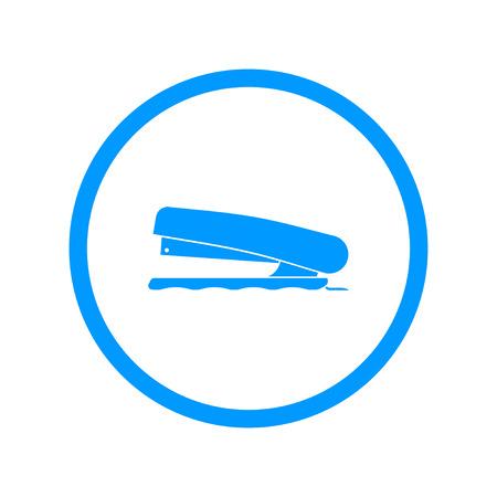 paper punch: Stapler icon