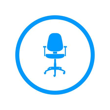Office ichair icon Illustration