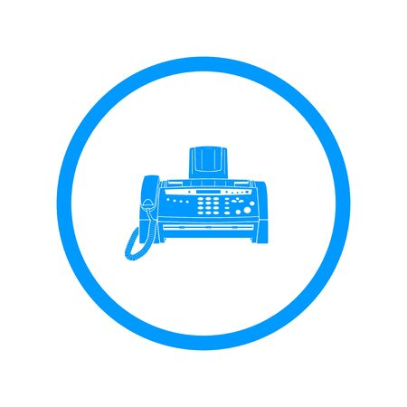 fax machine: Fax machine icon