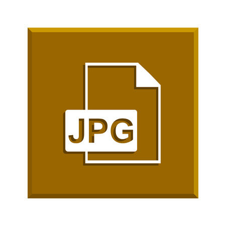 compressed: Jpg icon file . Flat design style
