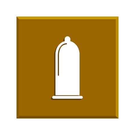 condones: Los condones icono Vectores