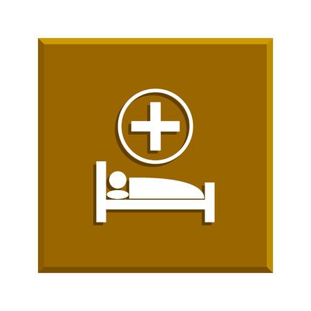 cama hospital: hospital bed