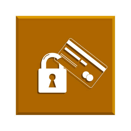 security icon: Credit Card Security icon .