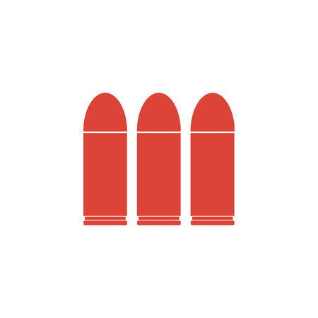 bullet icon: bullet icon. Flat design style