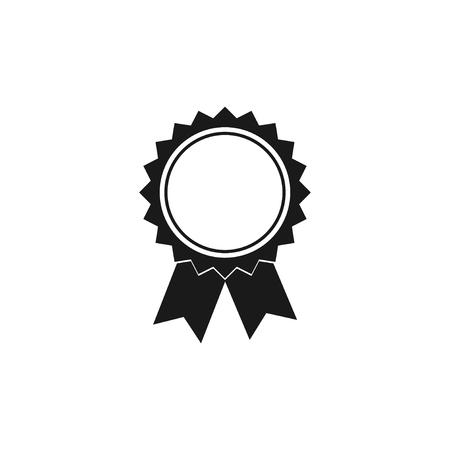 medallion: Vector medallion icon. Flat design style eps 10 Illustration