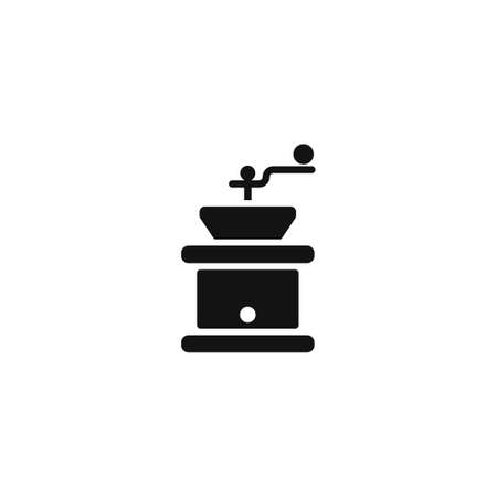 coffee grinder: Coffee grinder.  Flat design style eps 10 Illustration