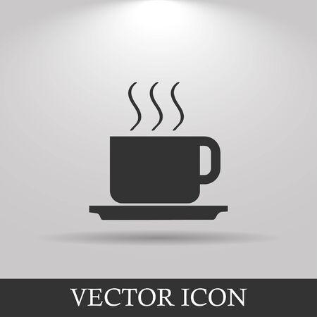 coffe: coffe vector illustration. Flat design style EPS