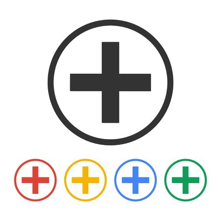 sign in: Medical sign in glossy button vector EPS