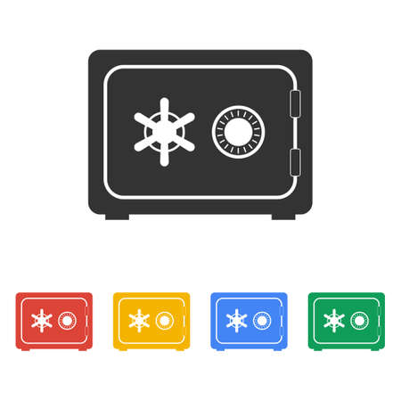 eps vector icon: Safe vector icon, vector eps 10 illustration