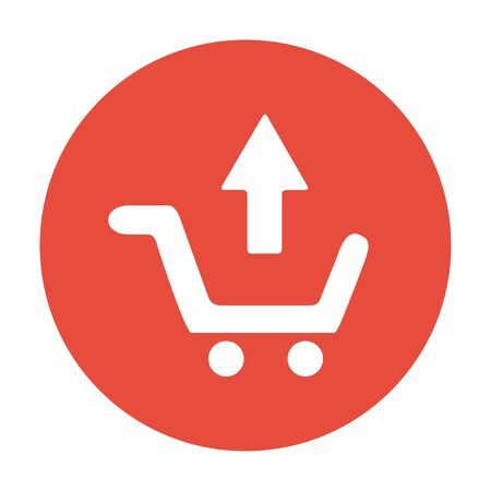 shopping cart icon: shopping cart Flat Icon.
