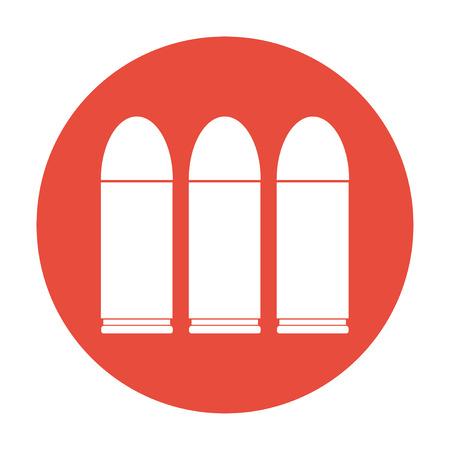 bullet icon: bullet icon Flat design style Illustration