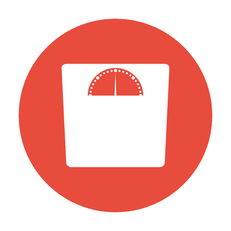 weighting icon illustration Illustration