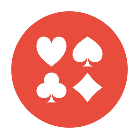 solitaire: Vector Playing Card Suit Icon Symbol Set