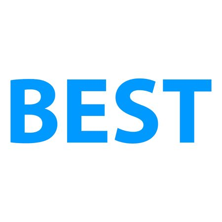 10 best: Flat modern vector icon best. EPS 10