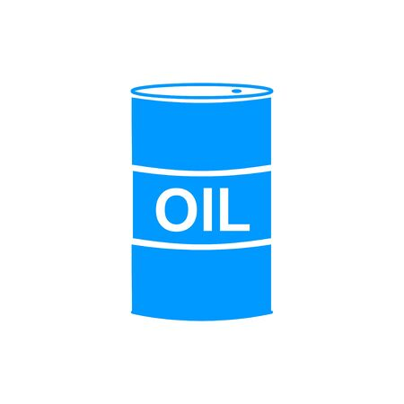stock listing: Vector icon barrels of oil. Flat illustration EPS Illustration