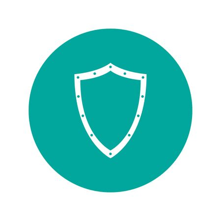 guard: Vector protection icon, isolated eps 10  illustration