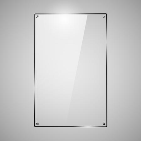 Glass Framework, design style modern vector illustration vector Illustration