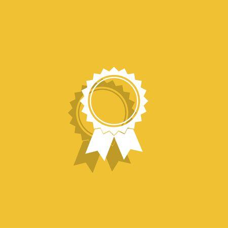 medallion: Vector medallion icon.