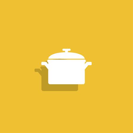 saucepan: Saucepan icon.