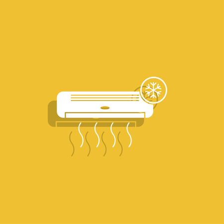 aire acondicionado: icono de acondicionador de aire.