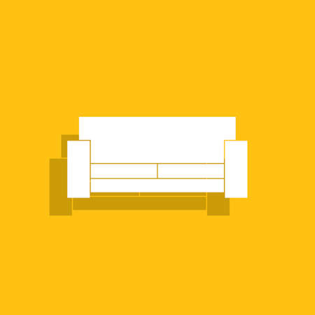 comfortable: Comfortable sofa Icons.
