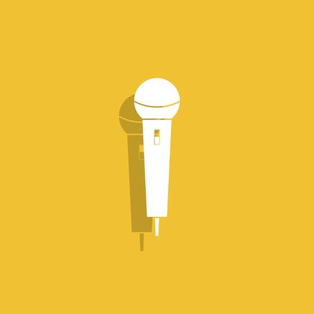 amplification: Microphone Icon.