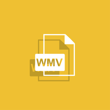 wmv: wmv file icon.
