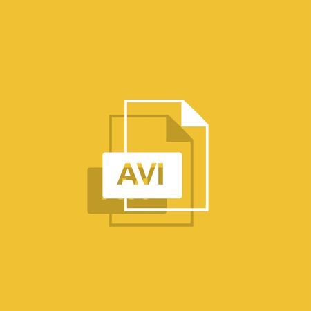avi: avi file icon.