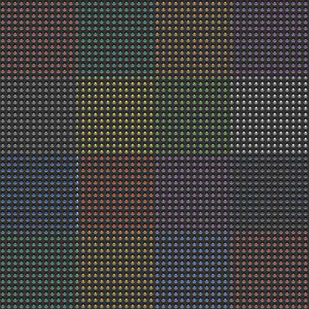 black pattern background. Flat design style vector illustration concept