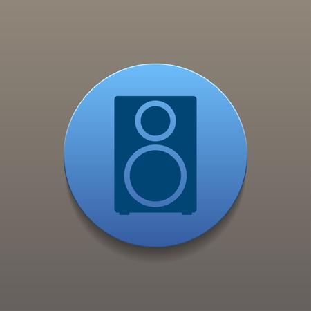 tercet: column - vector icon Flat design style eps 10 Illustration