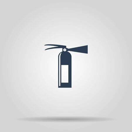 illustrator 10: Fire extinguisher. Vector isolated illustrator EPS 10