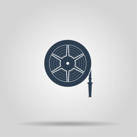 Wandhydranten Vector isoliert Illustrator EPS 10