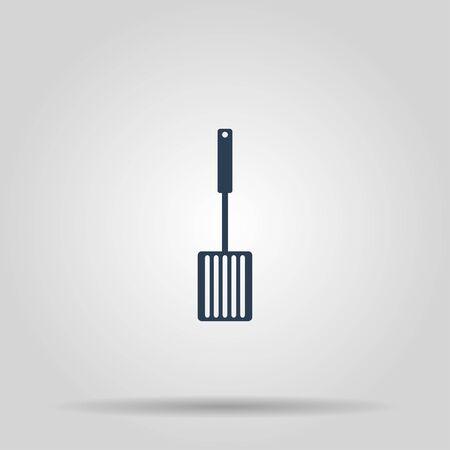 heatproof: Kitchen tool  icon. Vector concept illustration for design.