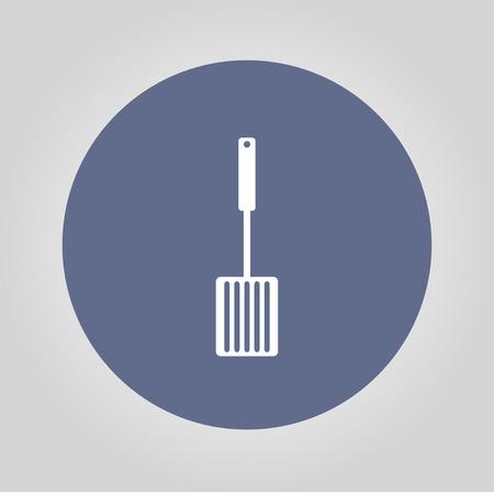 lasagna: Kitchen tool icon. Vector concept illustration for design. Illustration