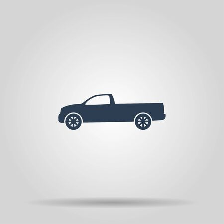 pickup: pickup Icon. Vector concept illustration for design.
