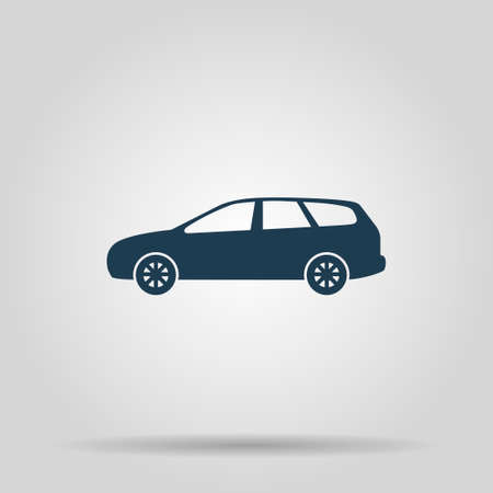 motor de carro: icono de carro de coches. Ilustraci�n del concepto de dise�o.