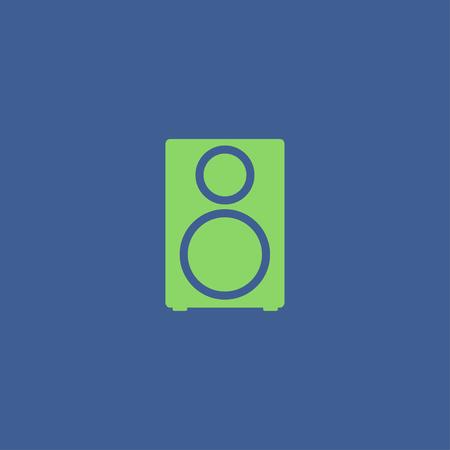 tercet: column - vector icon Flat design style Illustration