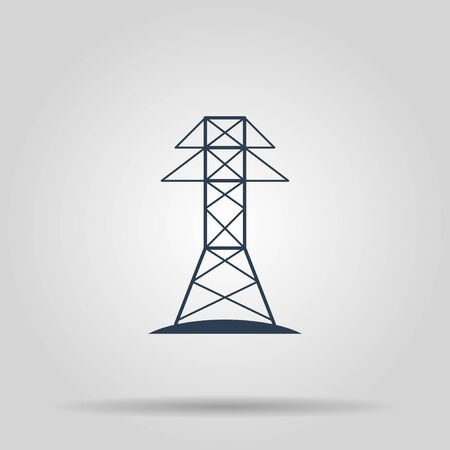 Electric Tower line icon. Concept illustration for design.