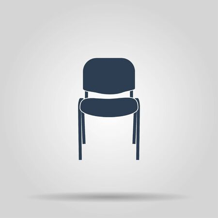 padded: Chair Icon. Vector concept illustration for design.