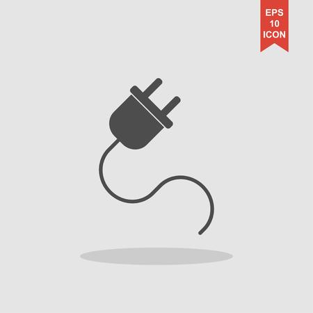 plugs icon,vector illustration. Flat design style eps 10