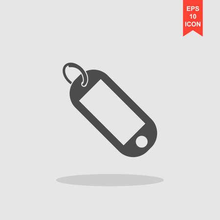 trinket: trinket icon. Flat design style eps 10