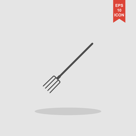 pitchfork: Pitchfork Icon. Vector concept illustration for design.