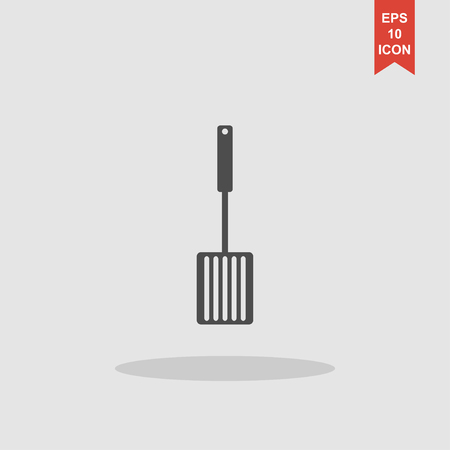 slotted: Kitchen tool icon. Vector concept illustration for design. Illustration